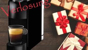 Weihnachtsgewinnspiel - Nespresso essenza mini